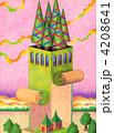 タワー 建物 塔のイラスト 4208641