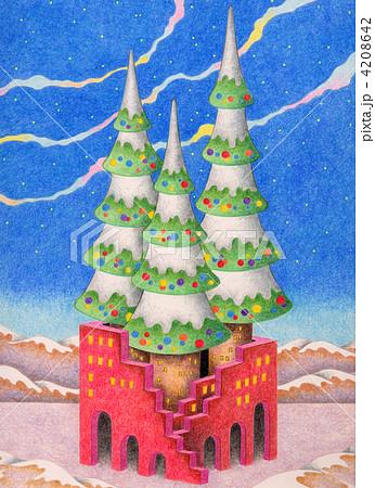 クリスマスタワー 4208642
