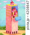 タワー 建物 塔のイラスト 4208647
