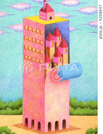 隠された塔 4208647