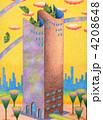 タワー 建物 塔のイラスト 4208648