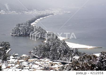 雪の天橋立 4212058