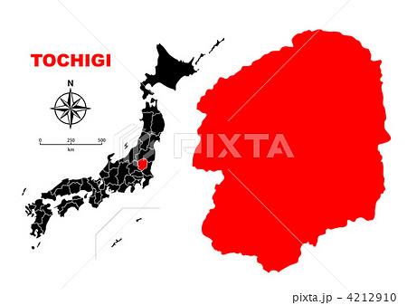 県 地図 栃木