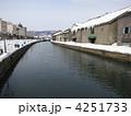 冬の小樽運河 4251733