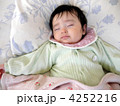 寝顔 お昼寝 赤ちゃんの写真 4252216