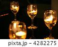 グラスのキャンドル 4282275