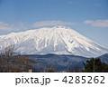 岩手山 冬山 山の写真 4285262