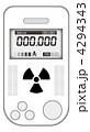 携帯用ガイガーカウンター 4294343