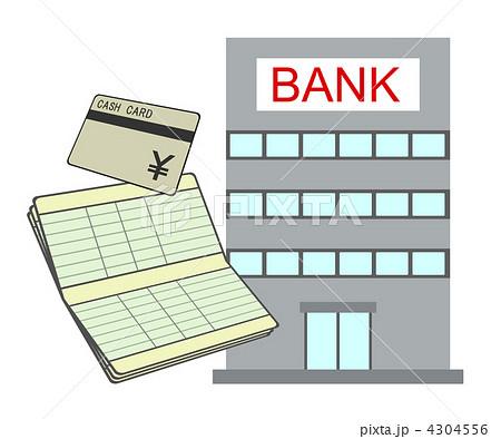 銀行口座のイラスト素材 4304556 Pixta
