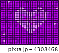 Vector abstract violet background with heart 4308468