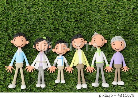 粘土の家族A 4311079