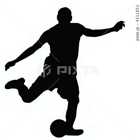 サッカー イラスト01 4311651