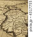 古地図 南米大陸 4317755