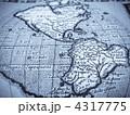 古地図 南米大陸 4317775