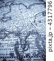 インド 世界地図 マップの写真 4317796