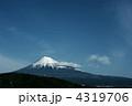 富士山 銀残し 4319706