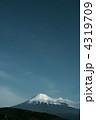 富士山 銀残し 4319709