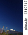 富士山とススキ 4319717
