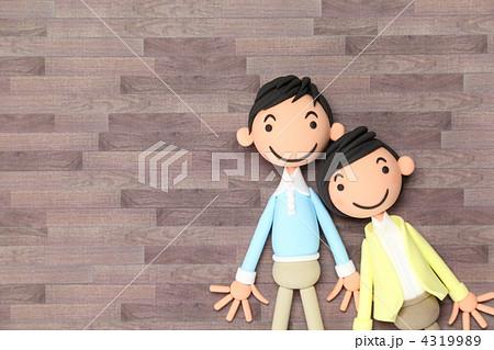 粘土の家族A 4319989