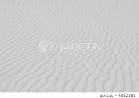 ホワイトサンズの風紋 4332385