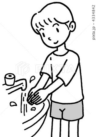 手洗い 4334842