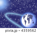 planet in the space and stars 4359562