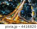 阪神高速 高速道路 道の写真 4416820