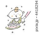 誕生日 ケーキ 赤ちゃんのイラスト 4418294