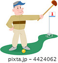 グランドゴルフを楽しむシニア 4424062