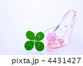 ガラスの靴と四ツ葉のクローバー 4431427