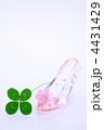 ガラスの靴と四ツ葉のクローバー 4431429