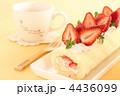 デザート ロールケーキ 生菓子の写真 4436099