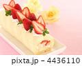 ロールケーキ 生菓子 フルーツロールケーキの写真 4436110