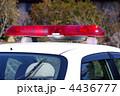 散光式警光灯 パトライト 赤色灯の写真 4436777