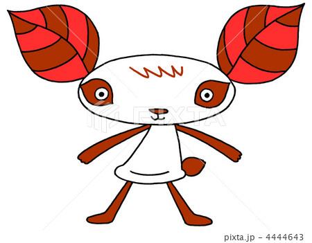 葉っパンダ - 赤 4444643