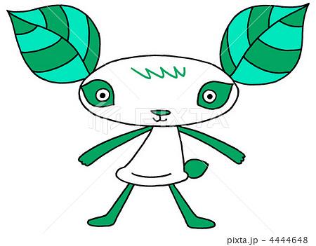 葉っパンダ - 青緑 4444648