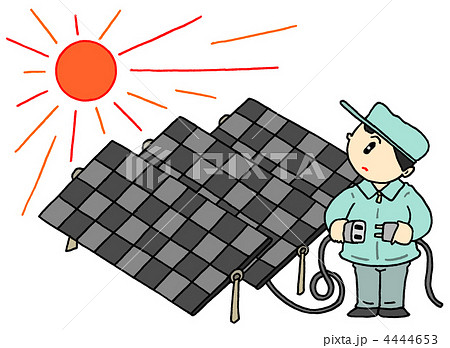 太陽光発電 4444653