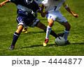 競り合い 球技 ボールの写真 4444877
