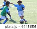 ドリブル 球技 子供の写真 4445656