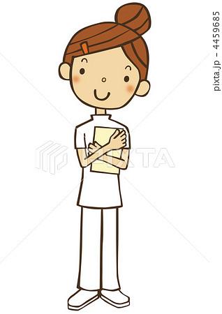 看護師のイラスト素材 4459685 Pixta