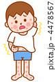 皮膚炎 湿疹 アトピー性皮膚炎のイラスト 4478567