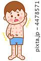 皮膚炎 湿疹 アトピー性皮膚炎のイラスト 4478571