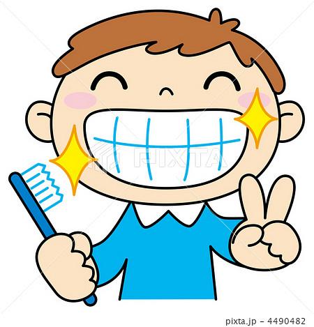 イラスト 幼児 イラスト 素材 : イラスト素材: 歯磨き
