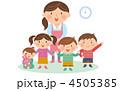 幼児 幼稚園 保育士のイラスト 4505385