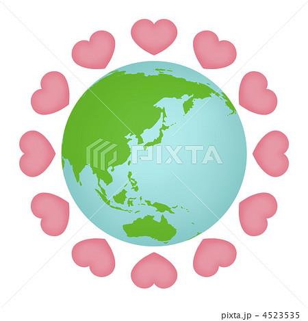 地球愛のイラスト素材 4523535 Pixta