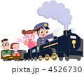 家族 SL 機関車のイラスト 4526730