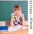 教室 教室風景 女生徒の写真 4561134