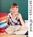 教室 教室風景 女生徒の写真 4561146