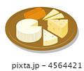 チーズの盛り合わせ 4564421