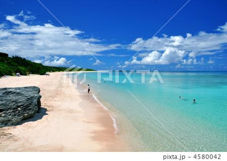 波照間島 ニシハマの風景 4580042